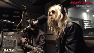The Pretty Reckless In-studio on Jonesy