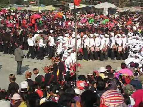 Jingpo dance festival