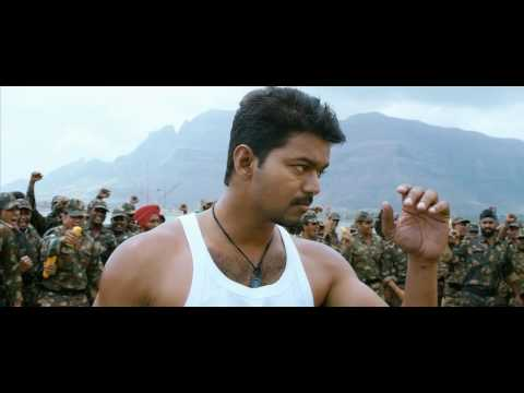 thuppakki vijay in mass intro