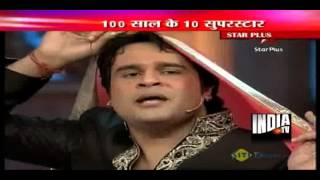 Standup comedian Krishna-Bharti entertains on completion of 100 years of Indian cinema