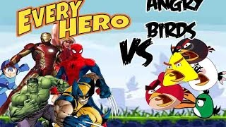 Heroes Vs Angry Birds