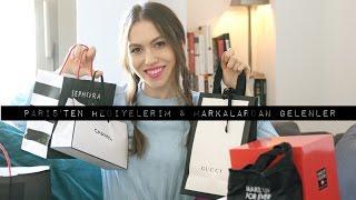 Paris Alışverişim, Size Hediyelerim & Markalardan Gelenler