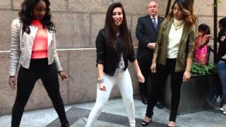 Fifth Harmony teaching Harmonizers how to dance