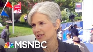 Jill Stein Pushes To Be Part Of Next Debate   MSNBC