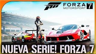 FORZA MOTORSPORT 7 GAMEPLAY ESPAÑOL | NUEVA SERIE! #1 | DEWRON