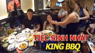 Tiệc đồ nướng KING BBQ kiểu hàn quốc BAO BỤNG - Khu nhà giàu QUẬN 2 SÀI GÒN I cuộc sống sài gòn