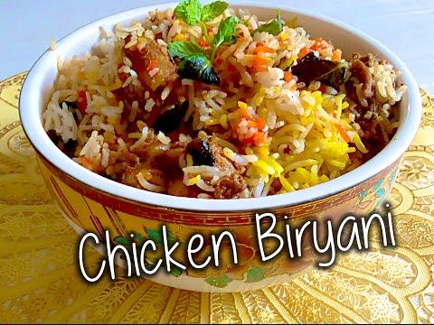 Chicken Biryani Recipe By  Chef Shaheen