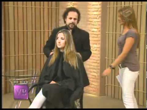 Corte de cabelo com visagismo Você Bonita 09 05 2011 Parte 2 2.avi