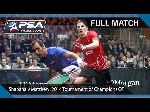 Xxx Mp4 Squash Full Match 2014 Tournament Of Champions Shabana V Matthew 3gp Sex