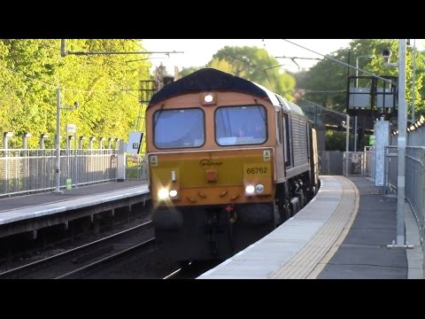 66762 6E80 19:12 Harlow Mill Rec (Gbrf) to March Down R.S Gbrf @ Stansted Mountfitchet 20/05/15