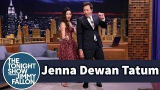 Jenna Dewan Tatum Teaches Jimmy the Tatum Body Roll