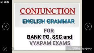 Conjunction Part 1 English Grammar
