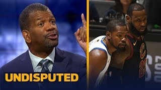 Rob Parker is confident the Warriors will complete the sweep vs LeBron