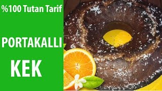 Davetsiz Misafirler için Portakallı Kek Çok Kolay