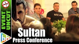 Salman Khan | Anushka Sharma | Sultan | Press Conference | Event Uncut