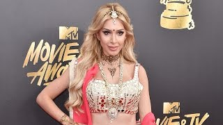 Farrah Abraham Sparks Controversy After Wearing Bollywood-Inspired Outfit to MTV Movie & TV Awards