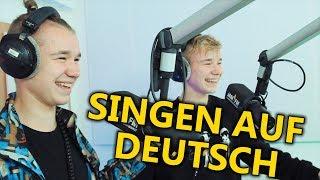 Marcus & Martinus Singen Bausa, Olexesh & Eno - Deutschrap ⚡ JAM FM