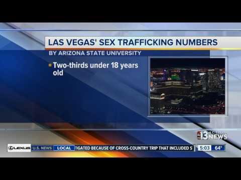 Study finds underage, fearful women in Las Vegas sex trafficking