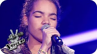 Macy Gray - I try (Nora)   The Voice Kids 2017   Blind Auditions   SAT.1