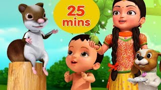Kathbirali Squirrel Rhyme And Many More Bengali Rhymes For Children Collection | Infobells