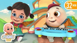 little miss muffet nursery rhyme - Cartoon Animation for Kids - English Rhymes by jugnu kids