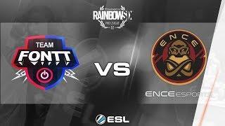 Rainbow Six Pro League 2017 - Season 3 Finals - PC - Team FONTT vs. ENCE eSports - day 2