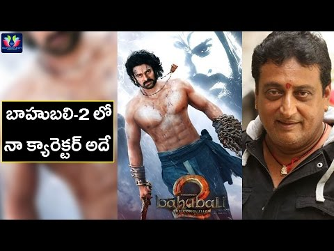 30 years Prudhvi Revealing his character in Baahubali-2 movie || TFC