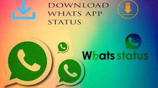 HOW TO DOWNLOAD WHATSAPP  STATUS VIDEO/MOVIE IN TAMIL