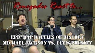 Renegades React to... Epic Rap Battles of History Michael Jackson vs. Elvis Presley