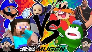 SMG4 CHARACTER BRAWL || Mugen - SMG4 Pack