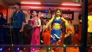 juna Shrees & Man Singh Khadka Ghamsa Ghamsi Live Lok Dohori song Mayalule Malait Shahriya Bhanchha