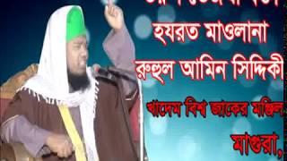 মুফতি রুহুল আমিন সিদ্দিকী,মাগুরা Mufti Rohul Amin Siddiki, Magura # Mira Hd Media