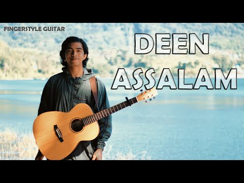 DEEN ASSALAM FINGERSTYLE ACOUSTIC GUITAR D.AW #tutorial