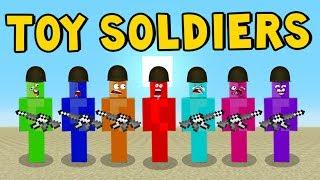 MINECRAFT MOD   Toy Soldiers   Minecraft Pocket Edition!