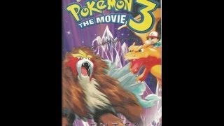 Opening To Pokemon 3:The Movie 2001 VHS