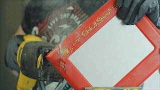 What's inside an Etch A Sketch?