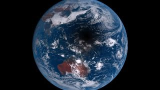 Watch As The Moon Casts A 3,000-Mile-Wide Shadow On Earth