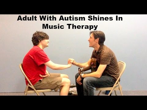 Xxx Mp4 Adult With Autism Shines In Music Therapy 3gp Sex