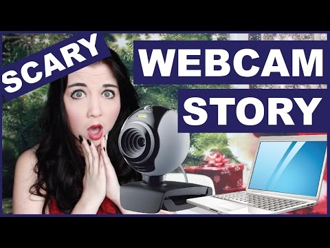 My SCARIEST Webcam Story