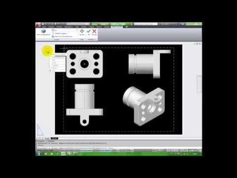 Dal 3D al 2D - La messa in tavola con autocad: PROIEZVISTA