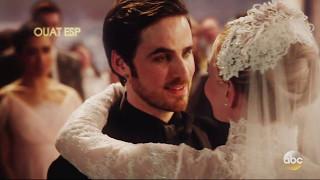 Once Upon A Time 6x20 Boda de Emma y Hook Votos & beso Subtitulada en español /Emma Hook Wedding HD
