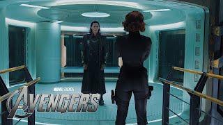 The Avengers - Natasha's trick HD