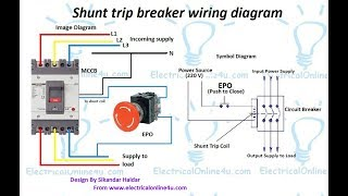 mqdefault shunt trip breaker videodownload mccb shunt trip wiring diagram at gsmx.co