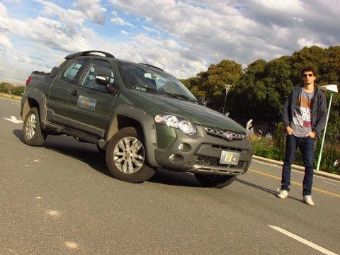 Test Fiat Strada Cabina Doble 3 puertas Adventure Locker 1.6 16v Info Sobre Ruedas