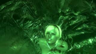 Resident Evil 6 Sherry Birkin and the Giant Snake B.O.W Ryona