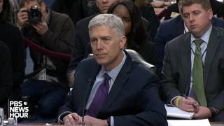 Gorsuch defends his use of pregnancy case in law class