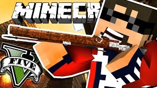 Minecraft: GRAND THEFT AUTO V | KILLING AN ADMIN!!