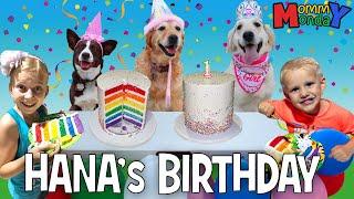 Puppy Birthday Party! 🐾🐶 || Mommy Monday
