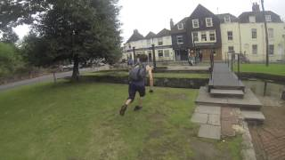GoPro parkour chase