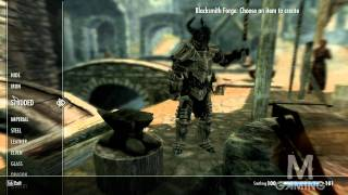 SKYRIM: How to get your SMITHING from 1-100 FAST